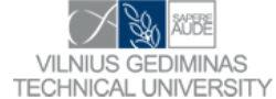 logo Vilnius Gedeminas Thecnical University
