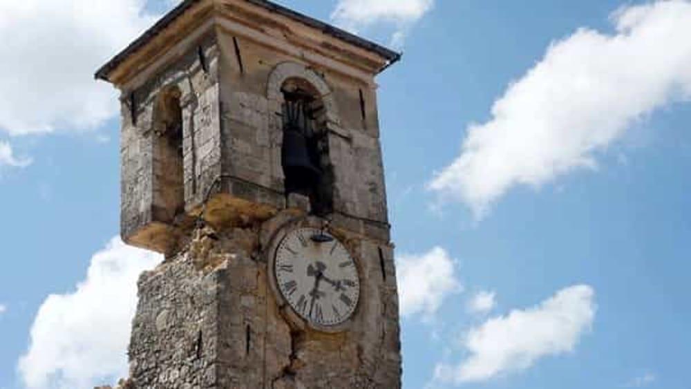 immagine terremoto ad Amatrice