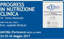 Convegno: Progress in nutrizione clinica