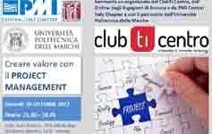 Convegno: Creare valore con il Project Management