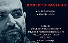 Roberto Saviano in Aula Magna d'Ateneo