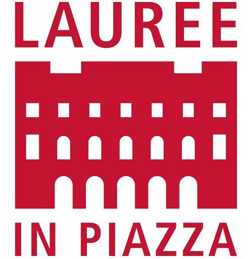 logo lauree in piazza