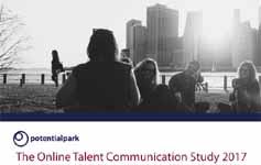 The Online Talent Communication Study 2017