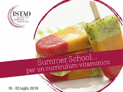 Summer School ... per un curriculum vitaminico