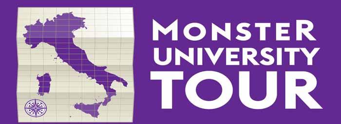 Logo Monster University Tour