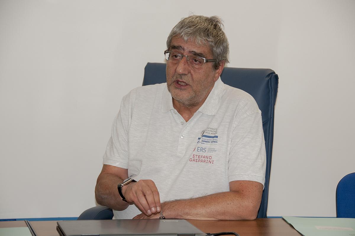 Il prof. Stefano Gasparini