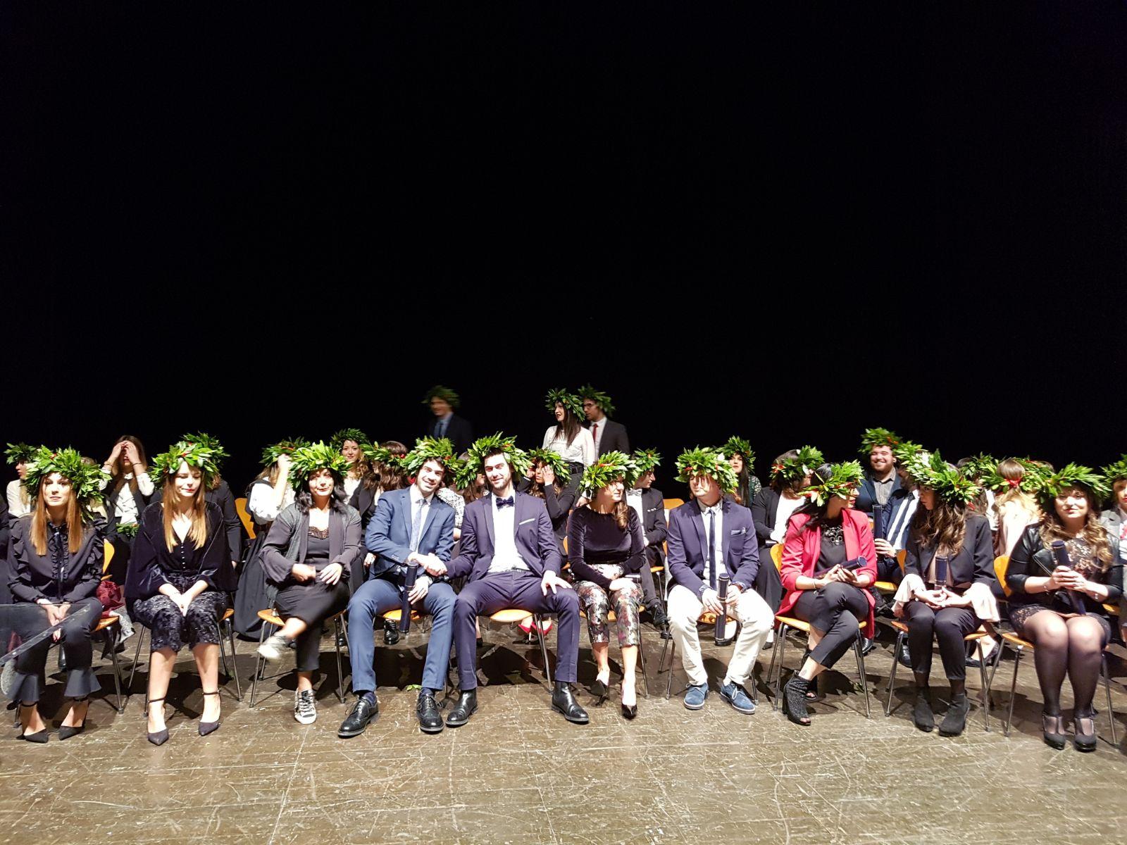 Al Teatro Rossini proclamazione laureati in Infermieristica