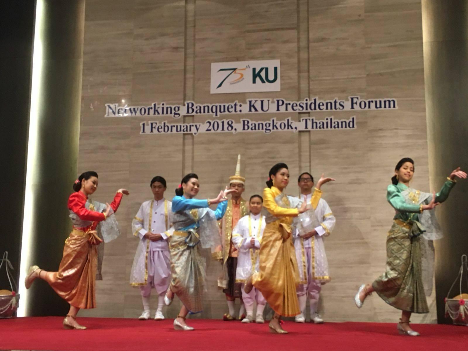 Il Forum dei Rettori organizzato dalla Kasetsart University in Tailandia.
