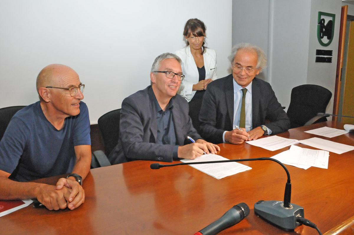 Firma protoccolo sanitario Regione Univpm