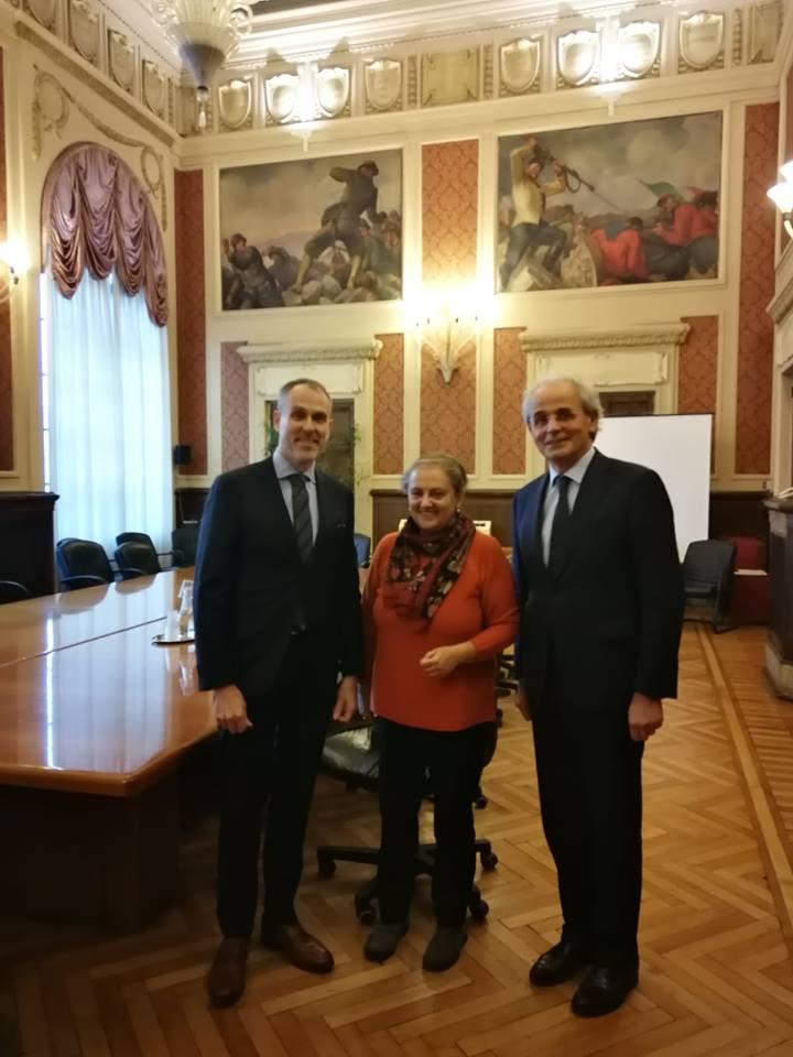 Visita dell'Ambasciatore di Finlandia al Comune di Ancona