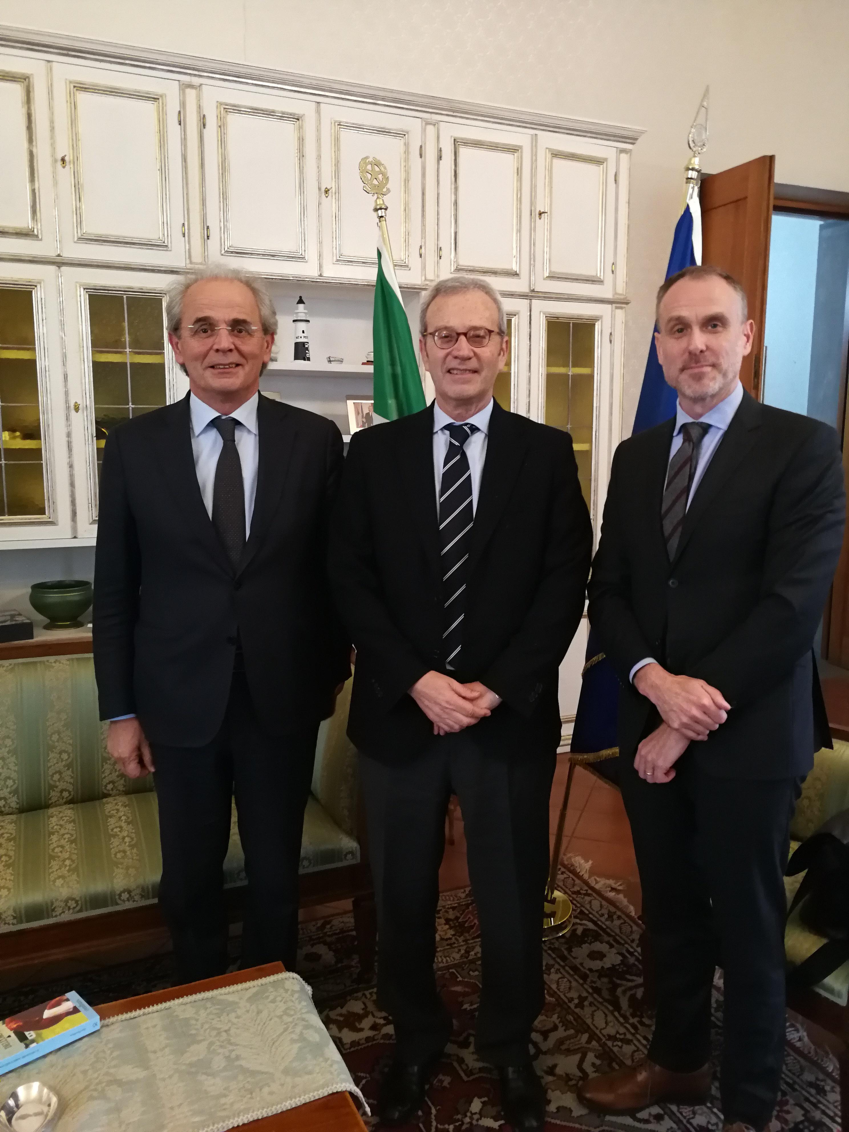 Visita dell'Ambasciatore di Finlandia in Prefettura