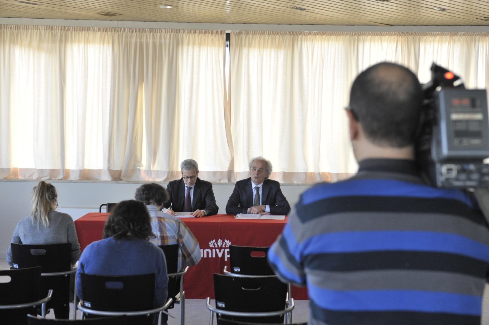 Conferenza stampa di presentazione dell'Inaugurazione Anno Accademico 2018-2019