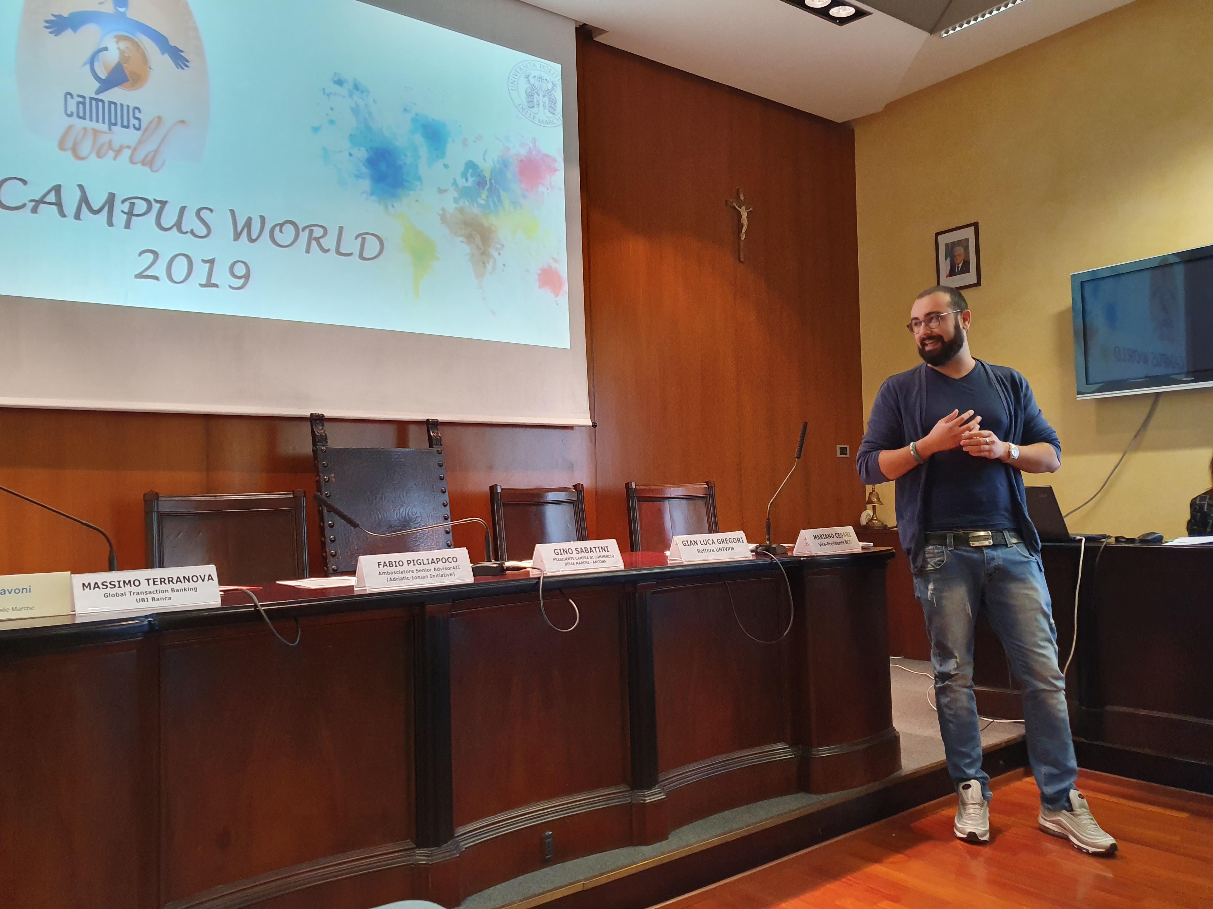 Presentazione dei risultati di CampusWorld