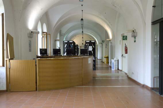 Entrata della Biblioteca