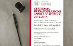 Inaugurazione A.A. 2014/2015
