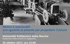 Seminario: Motori e automobili