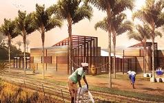 Studenti costruiscono una scuola in Ghana
