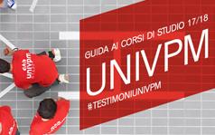 GUIDA AI CORSI DI STUDIO 2017/2018 #TESTIMONIUNIVPM
