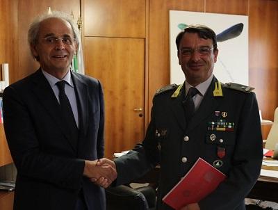Il Rettore incontra il nuovo Comandante GdF Marche