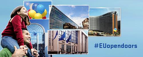 Immagine festa dell'Europa 2014 UEopendoors