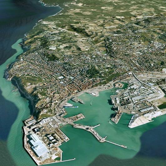 Ansicht von Ancona