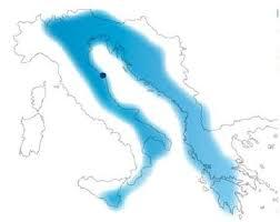 cartina delle Regioni sul Mare Adriatico