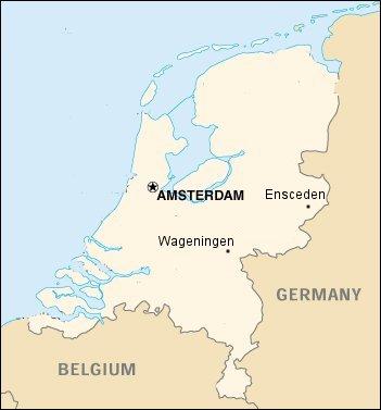 Cartina Olanda Politica.Univpm Accordi Programma Erasmus