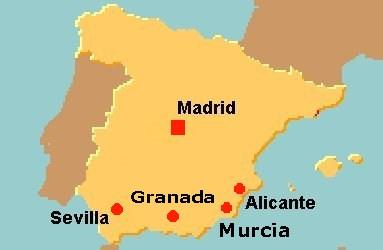 Cartina Murcia Spagna.Univpm Universidad De Murcia