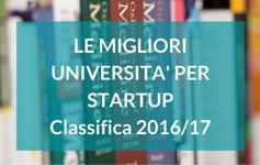 Classifica delle migliori università per Startup